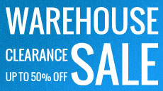 Warehouse clearance logo